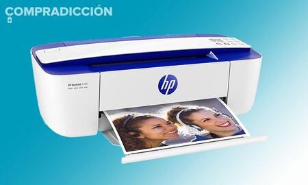 PcComponentes y Amazon tienen muy barata esa impresora que necsitas para el próximo curso: HP DeskJet 3760 por 59 euros