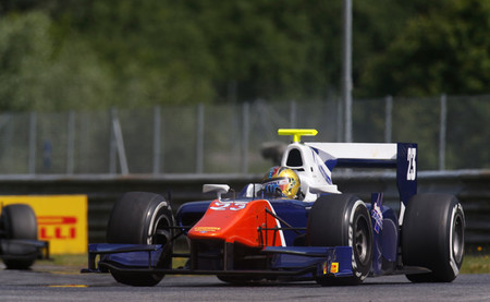 Johnny Cecotto GP2 Austria 2014