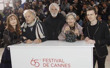Haneke y el reparto de Amour (Love) en Cannes