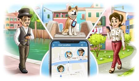 Cómo compartir tu ubicación en tiempo real en Telegram para iOS