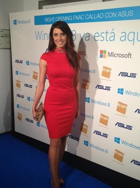 Pilar Rubio 'la polifacética', de presentadora <em>heavy</em> a madrina de Windows 8