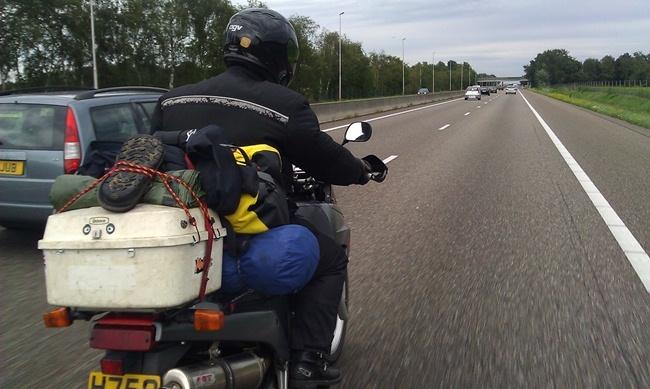 De viaje en moto por el mundo