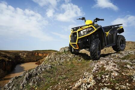 El Kymco MXU 300 se vuelve un ATV más preparado para la aventura con 21 CV y tracción 4x2
