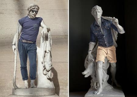 Modelos esculturales - 2