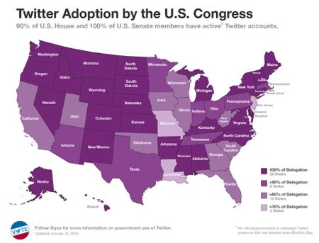 Los políticos americanos apuestan por Twitter, ¿y en España?