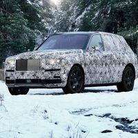 ¡Confirmado! El primer SUV de Rolls-Royce se llamará Cullinan y se muestra así de majestuoso