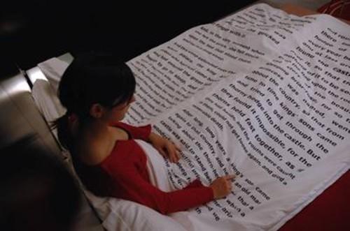 Mantas para leer en la cama