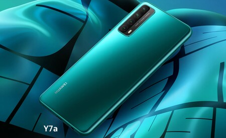 Huawei Y7a de oferta por el Buen Fin 2020