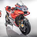 Ducati presenta la Desmosedici GP18 con un objetivo claro: conseguir el título de MotoGP