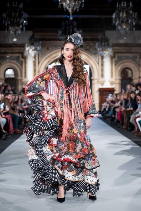 Traje De Flamenca Angela Y Adela