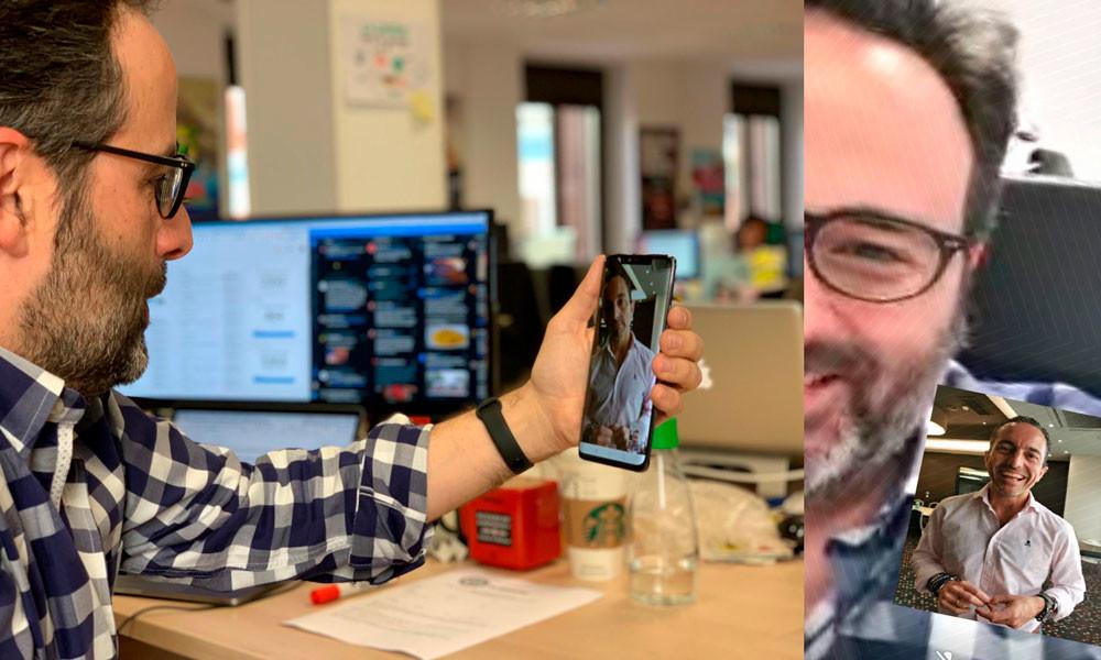 Hemos recibido la primera videollamada 5G: con un móvil final y una red real de Vodafone desplegada en Barcelona