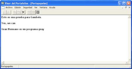 Crear un acceso directo al portapapeles en Windows