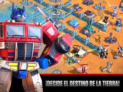 Transformers: Earth Wars, su nuevo juego de gestión y estrategia a lo Clash of Clans