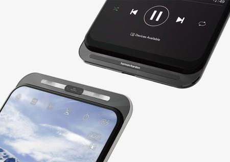 Un smartphone con doble sistema deslizable: abajo para cámaras y arriba para altavoz, así sería lo nuevo de ASUS