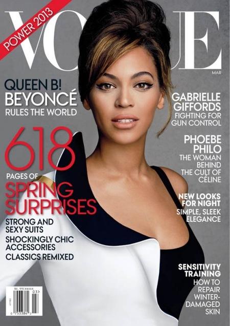 La belleza de Beyoncé, prota absoluta de la nueva portada de Vogue