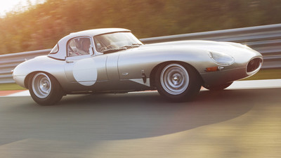 Jaguar Special Operations E-Type Lightweight