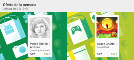 Oferta de la semana en Google Play: Pencil Sketch y Space Grunts rebajados a 0,10 €