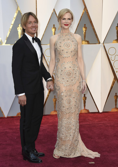 Love is in the air... No nos faltan las parejas  en los Oscars 2017