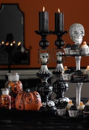 Complementos decorativos de lujo para Halloween