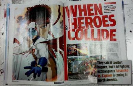 'Tatsunoko vs. Capcom' podría llegar a EEUU