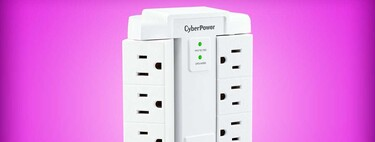Este multicontacto CyberPower con supresor de picos se puede comprar por menos de 200 pesos en Amazon México