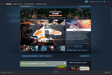 Demos Festival Juegos Steam