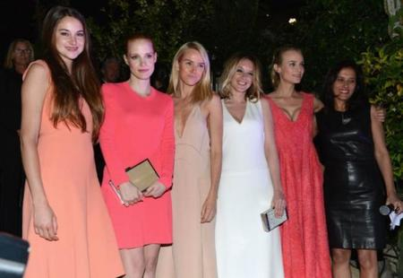 Marchando otra de modelazos festivaleros deluxe en Cannes 2012