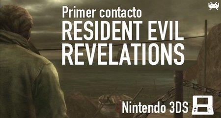 'Resident Evil Revelations' para Nintendo 3DS: primer contacto