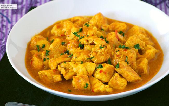 Pollo al curry express