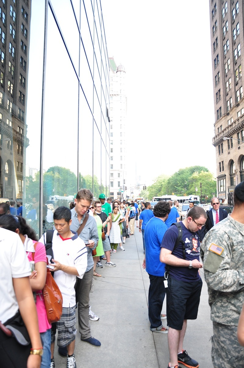 Foto de Lanzamiento iPhone 4 en Nueva York (5/45)