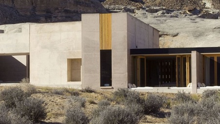 The Amangiri Hotel, el placer de estar en pleno Canyon Point de Utah