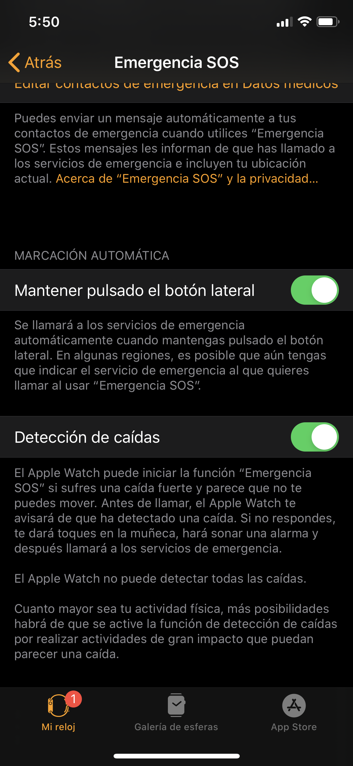 Foto de Apple watch Series 5 opciones (6/8)