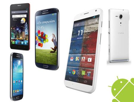 Los smartphones Android 2013 más importantes en México (I)