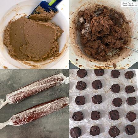 Galletas Chocolate Naranja Pasos