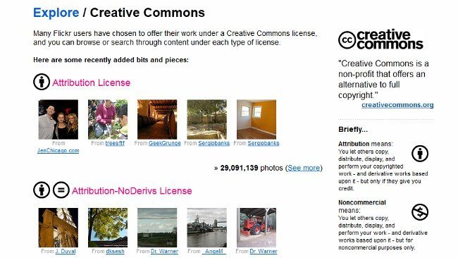Flickr supera los 200 millones de fotos con licencias Creative Commons