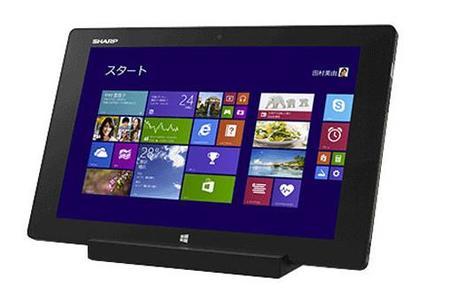 """Sharp presenta Mebius Pad, una tablet con Windows 8.1 de 10.1"""" con tecnología IGZO"""
