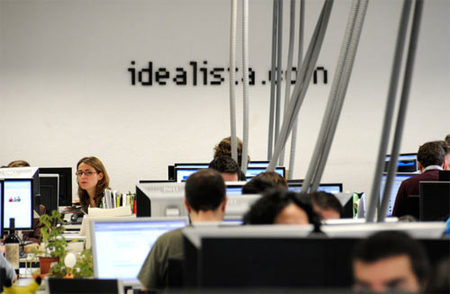Espacios para trabajar: las oficinas de Idealista en Madrid