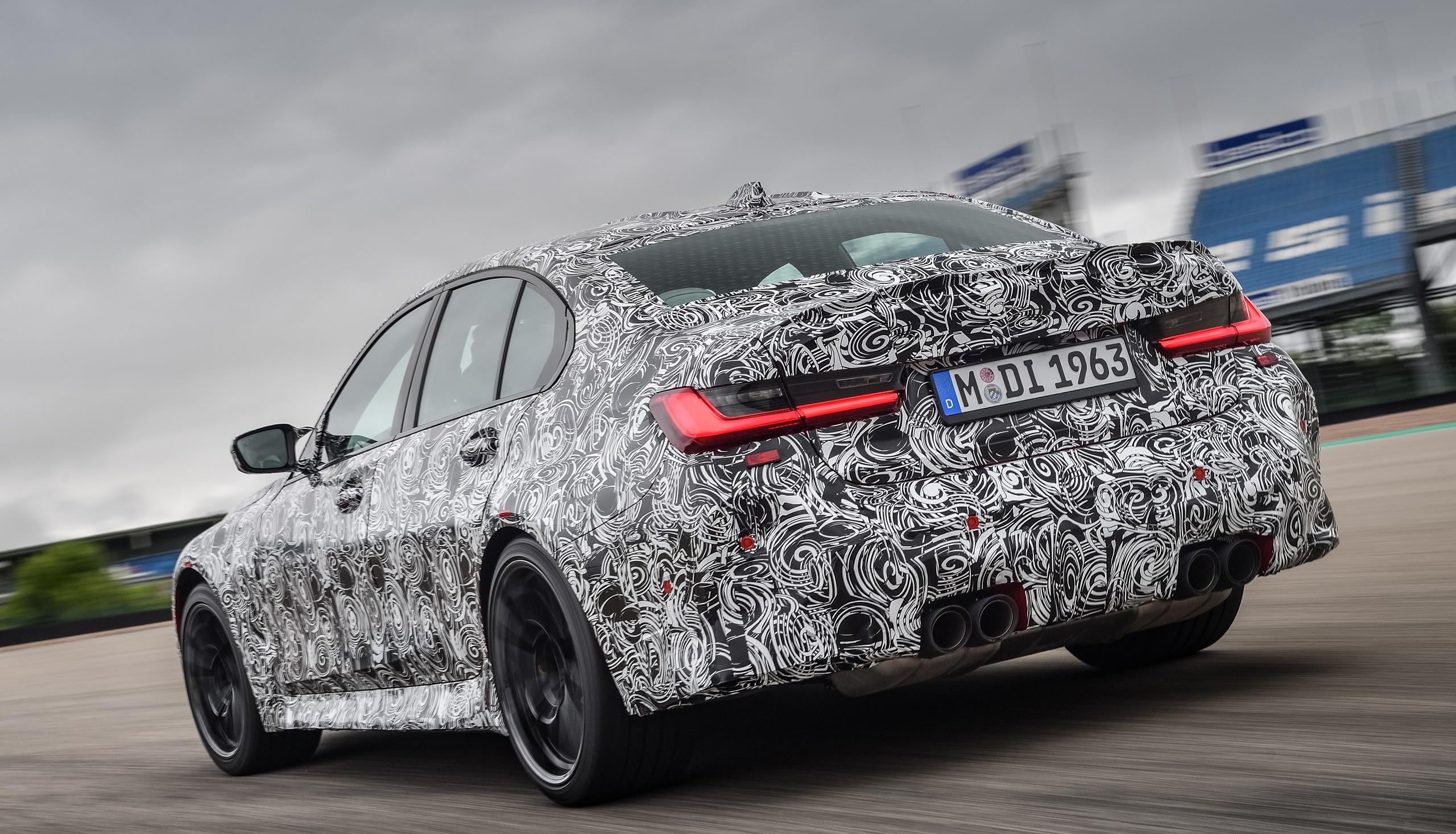 BMW M3 sedán y M4 coupé