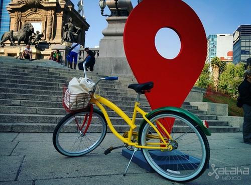 Google presenta en México Maps for Bikes