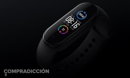 PcComponentes tiene la pulsera deportiva Xiaomi Mi Smart Band 5 por la mitad de lo que suele costar: hazte con ella por 19,90 euros con envío gratis