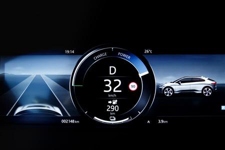 Jaguar I-PACE indicador autonomía