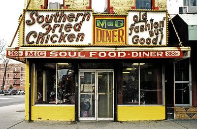 Decadentes comercios de comestibles en Nueva York, fotografías de James y Karla Murray
