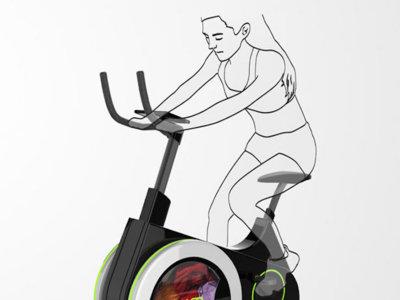 ¿Lavar ropa mientras nos ejercitamos? Esta bici-lavadora lo hará realidad