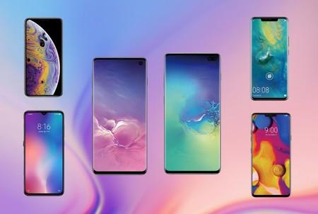 Comparativa del Samsung Galaxy S10 y S10+ frente al Xiaomi Mi 9, Huawei Mate 20 Pro, iPhone Xs y más: la batalla por ser el mejor móvil de 2019 comienza ahora