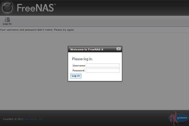 FreeNAS, nueva versión 8.0 para crear tu propio NAS casero
