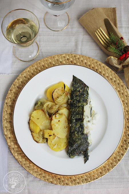 Rodaballo Al Horno Www Cocinandoentreolivos Com 3