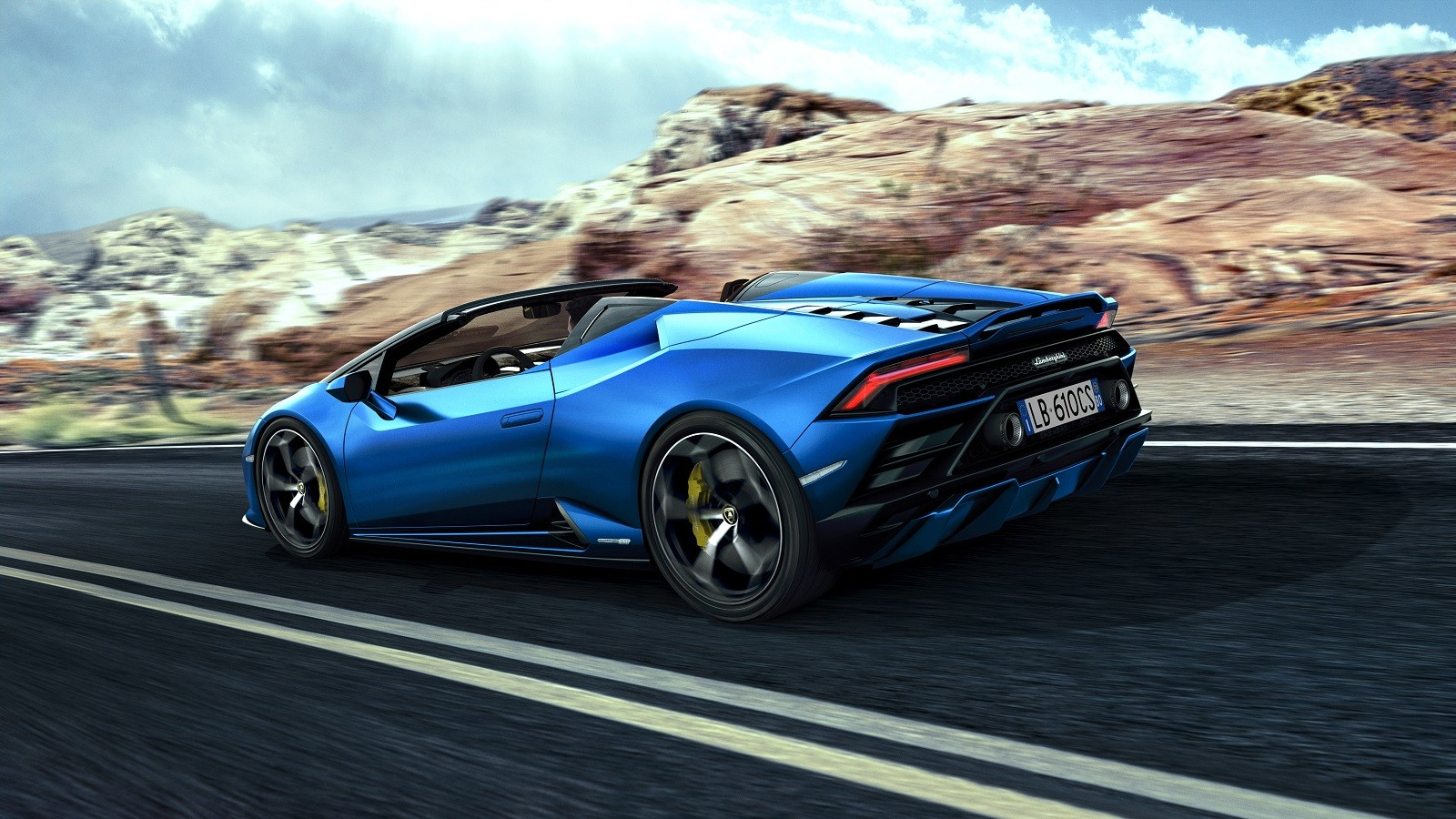 Foto de Lamborghini Huracan EVO Spyder RWD (2/14)