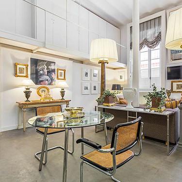 Feria Loft: un apartamento con el encanto del siglo XIX repleto de luminosidad sevillana y  detalles hitóricos