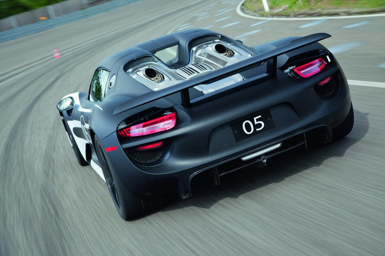 Foto de Porsche 918 Spyder Hybrid 14/05 (9/17)