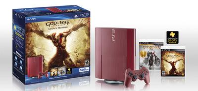 Sony anuncia el pack de PS3 y 'God of War: Ascension'